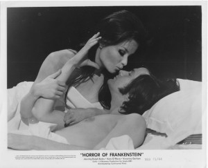 Kate O'Mara in HORROR OF FRANKENSTEIN