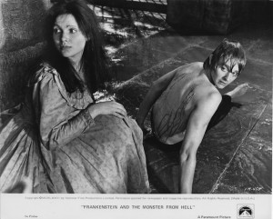 Madeline Smith in FRANKENSTEIN AND THE MONSTER FROM HELL